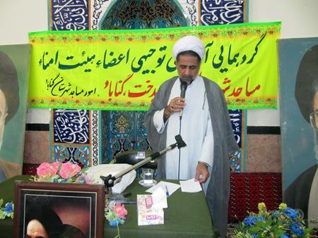 همزمان با دهه فجر؛ مسجد عمادی روستای باغسیاه گناباد افتتاح شد