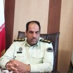 علی اکبر کیانی فرمانده انتظامی شهرستان گناباد