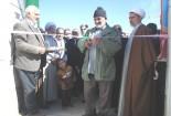 افتتاح خانه عالم روستای قنبرآباد با اعتبار ۸۰۰ میلیون ریال در گناباد
