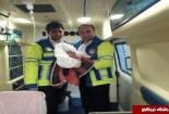 تولدنوزاد عجول گنابادی در آمبولانس