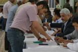 مشارکت حداکثری ساکنان شهر قنات و قنوت در انتخابات