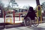 «کمبود مناسبسازیهای معابر»؛سنگی مقابل پای معلولان گناباد