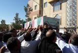 مراسم تشییع و تدفین سه شهید گمنام در شهر بیدخت گناباد برگزار شد