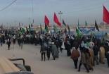 مشارکت هیئت رزمندگان اسلام گناباد در اعزام زائران به اربعین حسینی