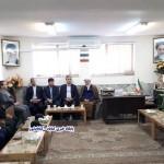 دیدار مدیران اجرایی با امام جمعه گناباد