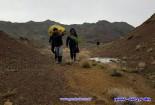 انسداد بخشی از مسیر روستای «تکمیدان»؛ مسئولان: فعلاً نمیتوانیم اقدامی انجام دهیم
