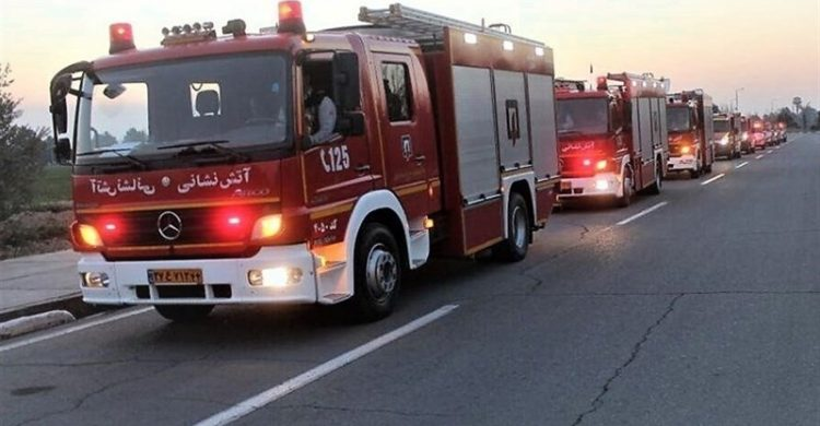 فداکاری آتش نشان گنابادی مانع از وقوع یک حادثه تلخ شد