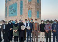 بازدید خبرنگاران از پروژه های عمرانی شهرداری