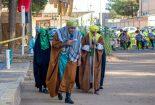 مراسم تعزیهخوانی در گناباد برگزار شد+ تصویر